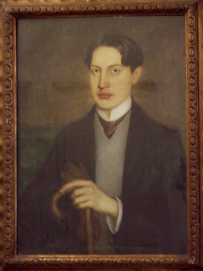 Romeo Costetti, Portrait of Roberto Assagioli (1905)